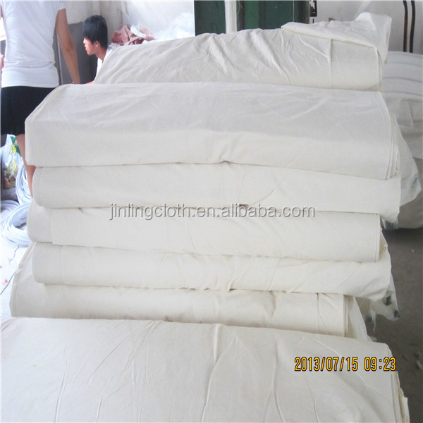 Grey Fabric Grey Polyester/Cotton Fabric For Dyeing And Bleaching Garment Use Woven