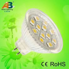 MR16 dimmable led bulbs lamp 12smd 2012 hot products !!!