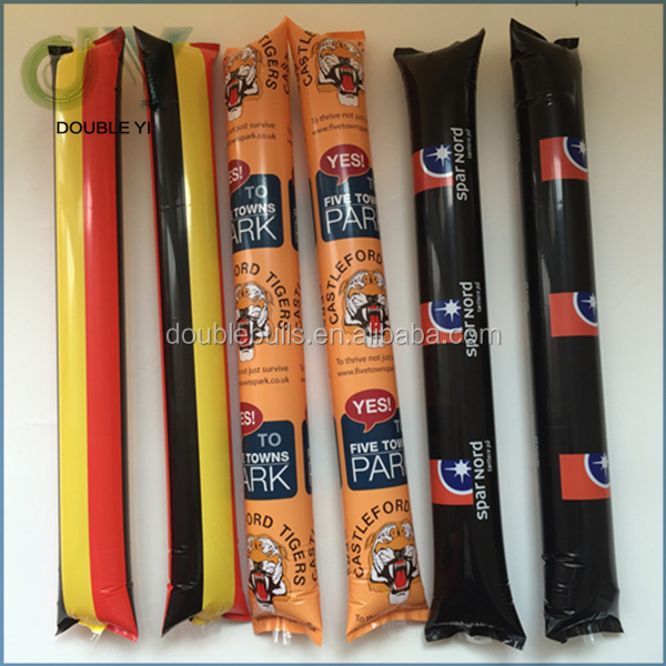 Custom Cheering Ballon Inflatable Stick Clappers Pe Inflatable ...