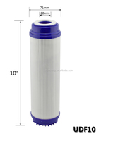20 Inch Gac Granular Activated Carbon Filter Cartridge Housing ...