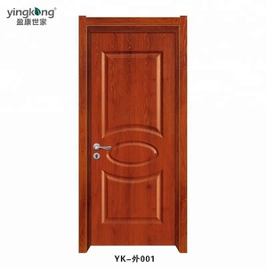 Alibaba Online shopping waterproof and ECO-friendly Bedroom WPC/ABS Door  with Luxury design in Malaysia