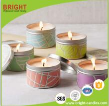 Best Selling Gift Craft Tealight Candle With Letter On It surface On Sale