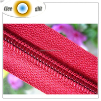 Clee Gift Polyester Nylon Coil Zippers For Bags