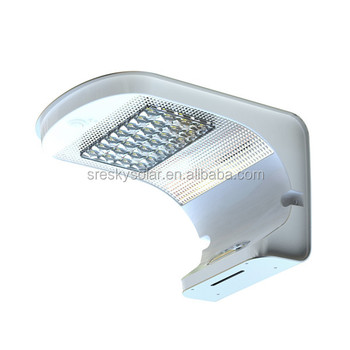 1000 Lumens 10W Outdoor Garden Decorative Solar Ip65 Led Light With Sensor
