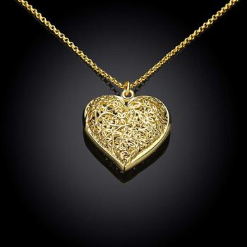new design necklace pendant 18k gold plated chain long necklace
