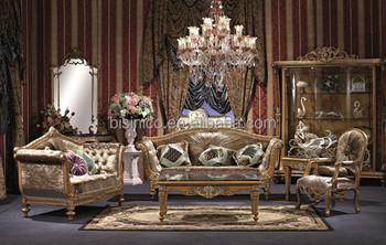Woonkamer Vintage Bank : Britse stijl paleis bankstel vintage houtsnijwerk woonkamer
