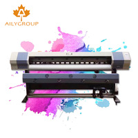 1.6m large format canvas printer digital eco solvent printer
