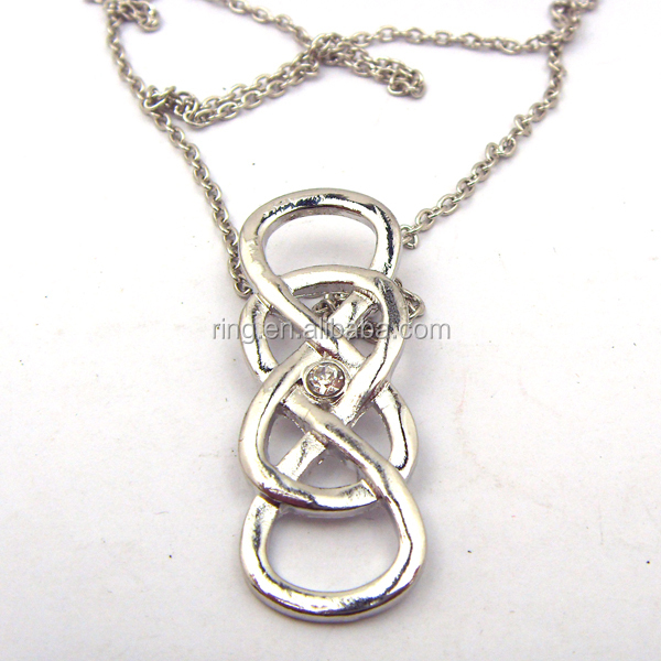 Infinity Double Necklace - Revenge Emily Thorne s2rKP6q