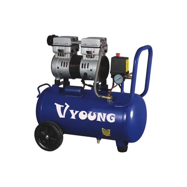 Hot sale china CE certification quiet oil free air compressor with quality drain valve