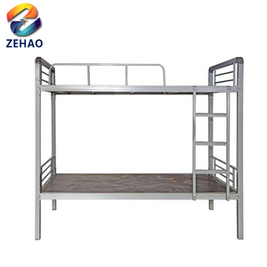 china electro galvanized steel bunk bed manufacturer
