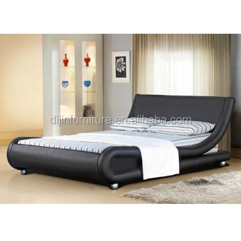 Luxury Furniture Used French Bedroom Simple Double Bed Design