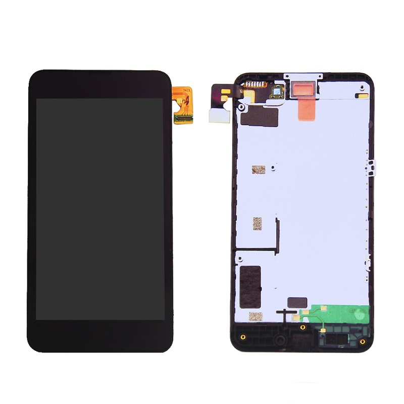 100% Test one by one Mobile Phone LCD Display Assembly For Nokia Lumia 630 LCD Touch Screen With Digitizer