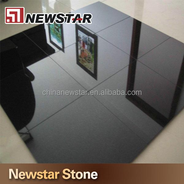 Chinese Absolute Black Granite Tile 60x60