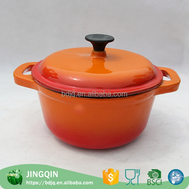 China wholesale casserole hot pot set Cast Iron casserole