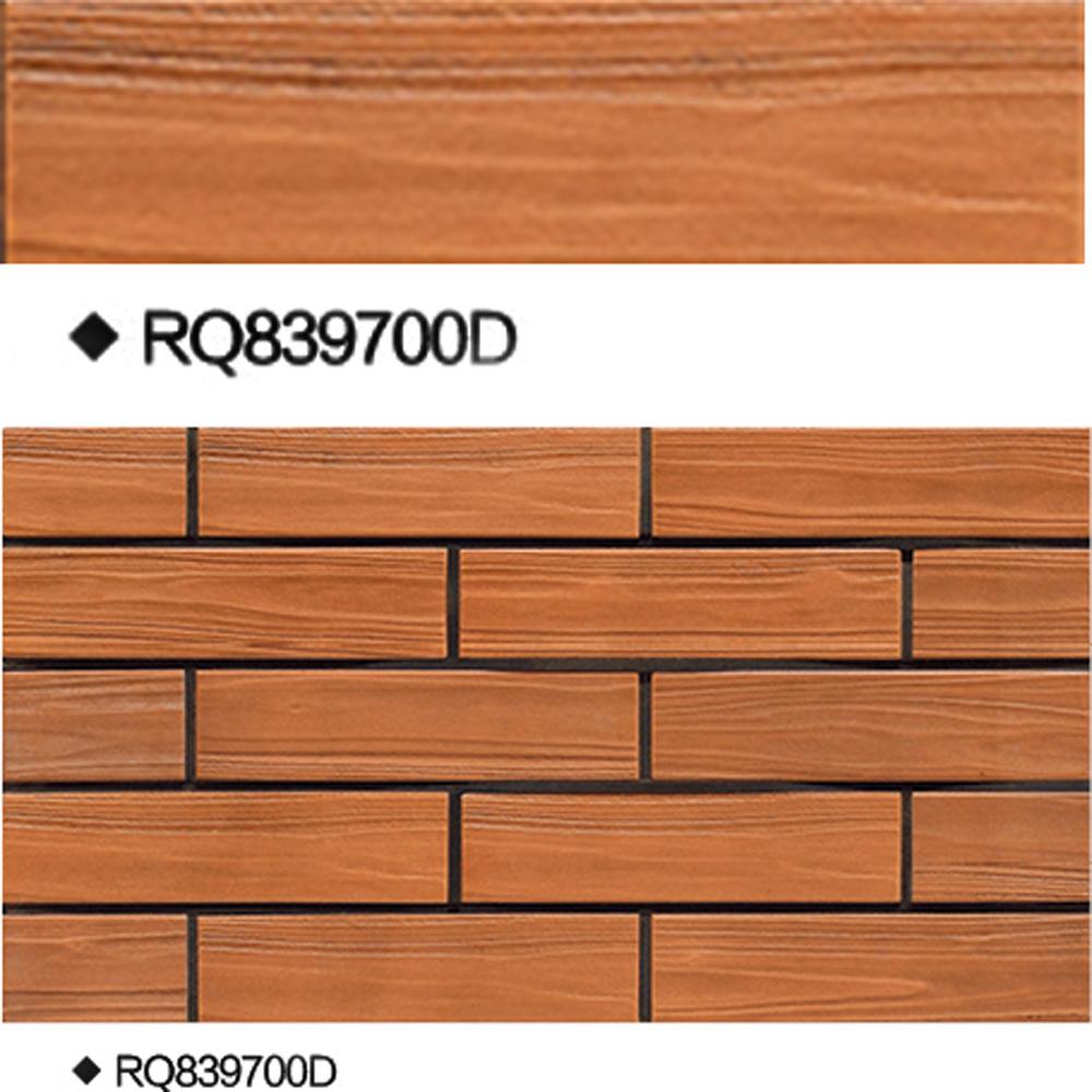 High similar wood grain look porcelain bright full body wall ceramics tiles for interior exterior
