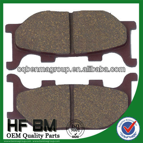 Super Quality Semi-Metalic Brake Pad Motorcycle Brazil Market Hot Sell, SRZ150 Brake Pad with ISO9001 Certificate!!!!
