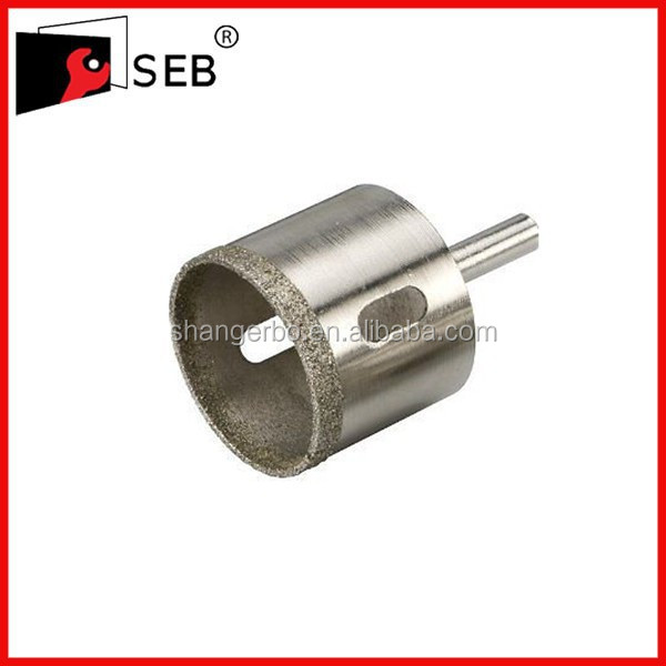 electroplated impregnated single pipe diamond core drill bit 2012 for exploitation geological mine well railway 36-325mm