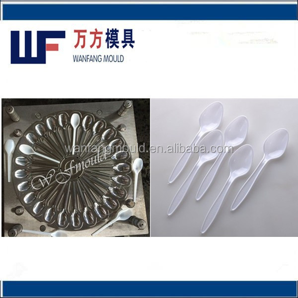 oem custom injection pp cheese spoon mould/plastic spoon mould/injection mould