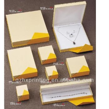 Fashion Elegance Recycled Kraft Make Paper Jewelry Gift Ring Boxes