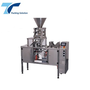 Volumetric Cup Filler for rice packaging machine and single cup filling sealing machine