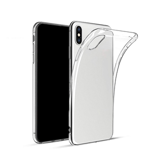 Custom OEM transparent silm tpu phone case for iPhone xs xr xs max