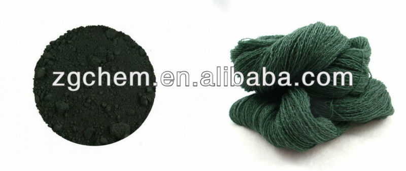 Acid Dark Green B 20# (wool, silk, polyamide dyeing and printing, leather and paper coloring)