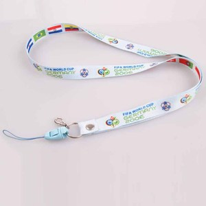 guangzhou factory professional custom polyester printed safety breakaway clip cell phone holder lanyard string