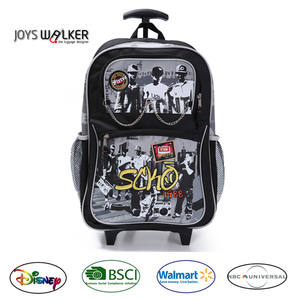 87de28a048 New Waterproof Polyester PVC Kid s Trolley School Backpack for Outdoor