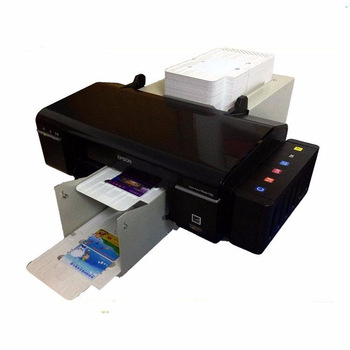Continuous Print Smart Id Card Printer For Epson L805 Pvc Card