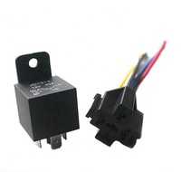 JD2912/JD1914 Car relay 12V/24V/36V/48V/60V/72V 40A relay 4-pin 5-pin with cable socket