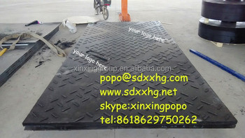 uhmwpe plastic tread ground protection matplastic tread plate/ hdpe tread plate & Uhmwpe Plastic Tread Ground Protection MatPlastic Tread Plate/ Hdpe ...