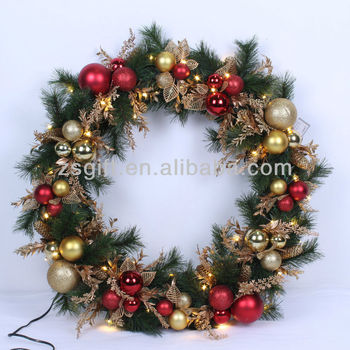 Comely Wholesale Christmas Wreath Plastic Handicrafts Buy Plastic