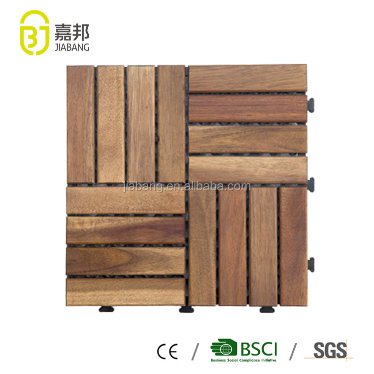 Interlocking Decorative Acacia Wooden
