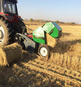 farm helper agriculture hay and straw alfalfa baler machine