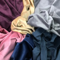 cheap furnishing upholstery holland french plain velvet curtains fabric online wholesale sofa fabrics