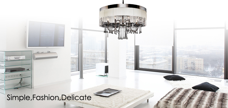 Fake Crystal Chandelier Crystal Fabric Cover Round Decoration Pendant Lamp 2108309 - Buy Pendant ...