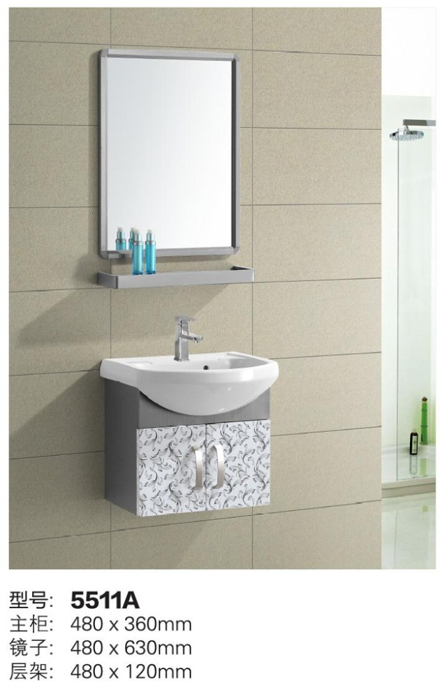 Foshan factory best discount bathroom vanity cabinet