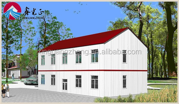 colour cladding high rise steel prefab houses