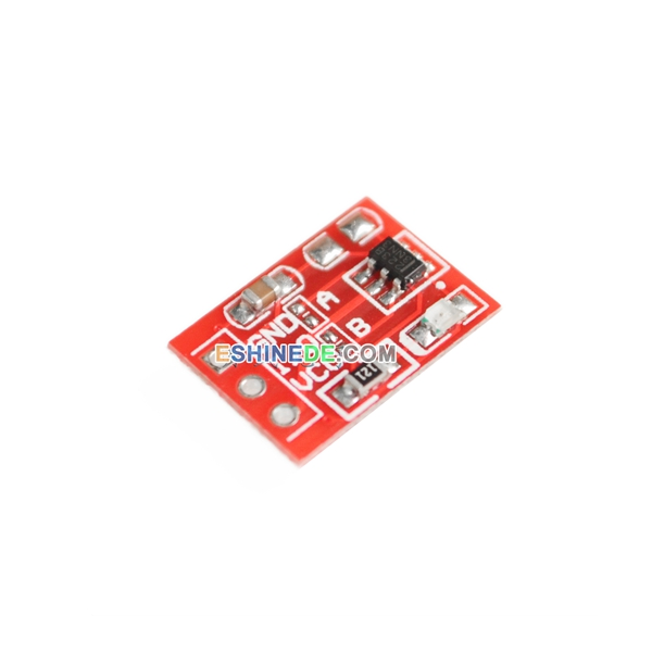 10Pcs TTP223 Touch Key Module Capacitive Settable Self-lock//No-lock Switch Board