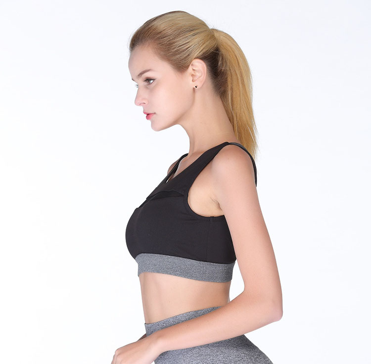 Workout Sports Bra for Women - Fitness Athletic Exercise Running Bra Yoga Tops