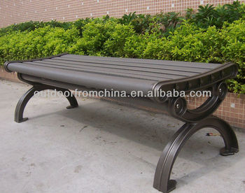 Fine Cast Aluminum Plastic Wood Backless Park Bench Buy Backless Bench Cast Aluminum Bench Outdoor Bench Product On Alibaba Com Beatyapartments Chair Design Images Beatyapartmentscom