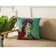China supplier abstract patterns picasso cushions cover