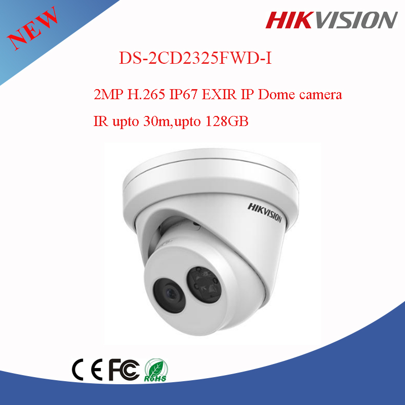 NEW DS-2CD2325FWD-I 2 MP Network Turret EXIR ip cctv Camera hikvision