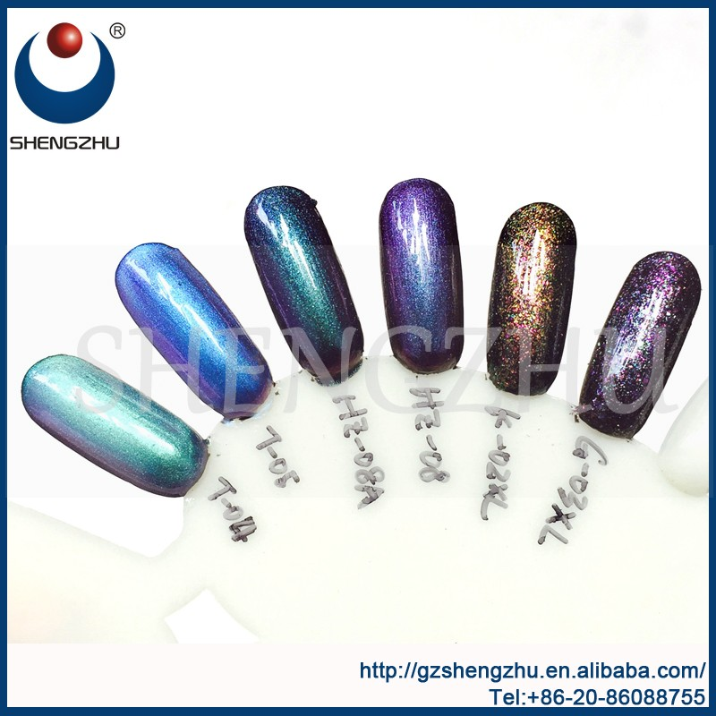 Iridescent Holographic Effect Pearlescent Pigment Chameleon effect ...