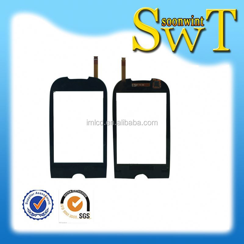 wholesale touch screen for samsung s3650/s3653 black by dhl