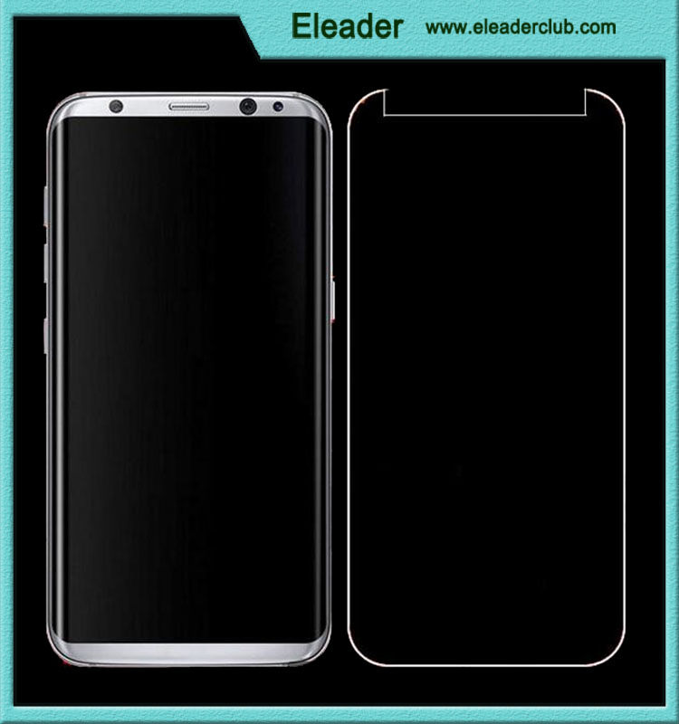 For samsung galaxy s8 tempered glass screen protector 9H