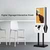 32 inch interactive multimedia kiosk payment with high quality windows or Android system