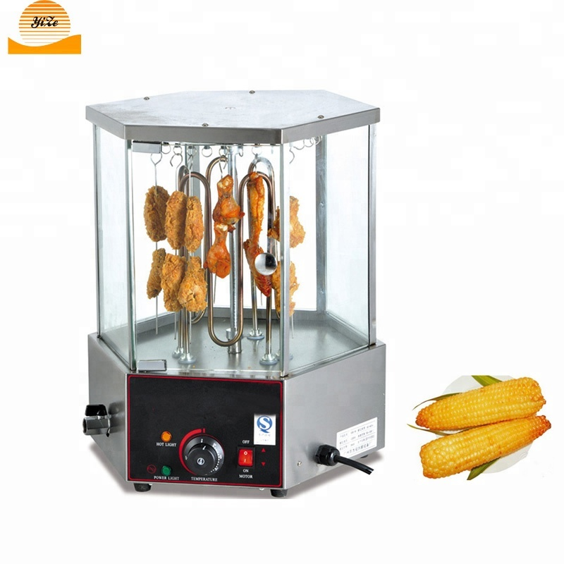 Automatic Rotary Barbecue Chicken Baking Roaster <strong>Corn</strong> Roasting Machine