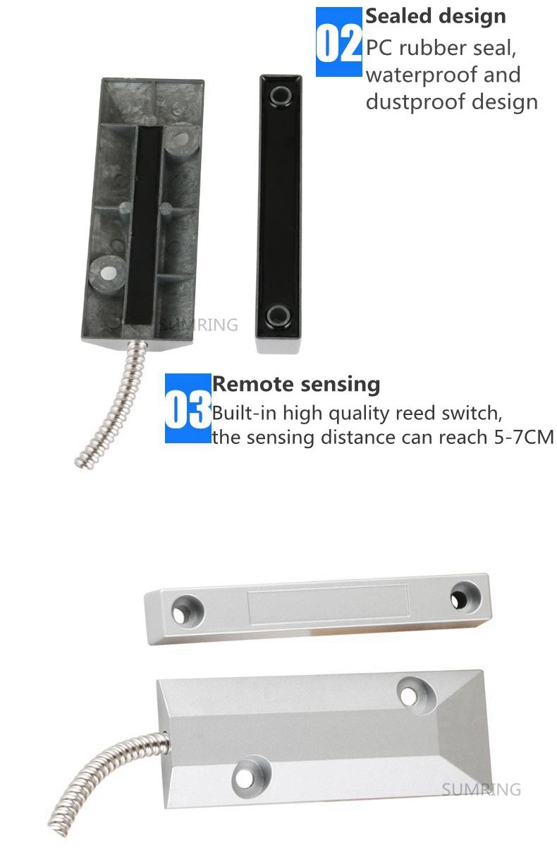高品質サーバルーム磁気ローリングシャッタードア接触のためのセキュリティシステム
