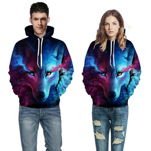 OEM Wholesale Bulk Unisex Custom Printed Sublimation 3D Hoodies